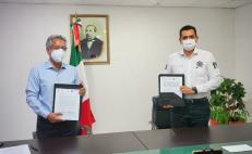 Pactan SSPO y Tribunal de Oaxaca trabajo conjunto contra la violencia de género