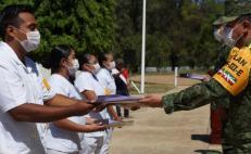 Reconoce Sedena labor de médicos y militares en la lucha contra la pandemia de Covid-19