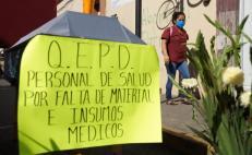 Llegan a 761 los contagios de Covid-19 entre personal médico que combate al virus en Oaxaca`