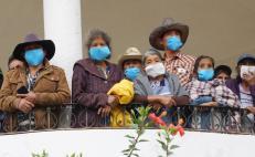 Epidemia de Covid-19 está activa en 100 municipios de Oaxaca