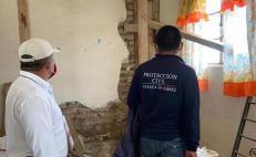 Concluye censo de daños en la capital por sismo de 7.4; hay 111 inmuebles afectados