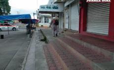 Paraliza Matías Romero actividad comercial y financiera, ante aumento de Covid-19