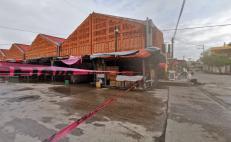 Prologan una semana más cierre en el mercado de Juchitán; piden cautela ante reapertura comercial