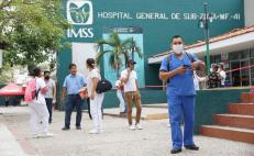En Oaxaca, 2 mil 266 trabajadores de Salud han resultado contagiados por Covid-19
