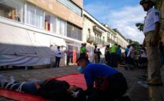 Cancelan Macrosimulacro de 19-S en Oaxaca, ante riesgo de Covid-19