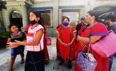 Mujeres triquis exigen justicia a 10 años de ser desplazadas de San Juan Copala
