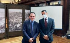 Se reúne Murat con secretario de Hacienda; acuerdan mesas de trabajo para cierre fiscal 2020