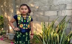 Niños de primaria interpretan a la distancia a personajes históricos de Juchitán