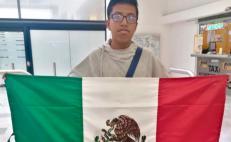 David, el oaxaqueño de 14 años que representa a México en olimpiada internacional de Matemáticas