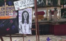 Urge diputada a frenar feminicidios en Oaxaca; necesario pasar del discurso a la acción, afirma