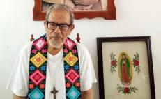 """Fallece Arturo Lona Reyes, el """"Obispo de los Pobres"""" en el Istmo; no resistió al Covid"""