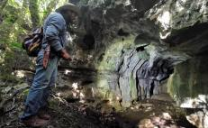 Un terremoto reveló la existencia de 100 tumbas prehispánicas
