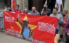 Presunto asesino de Tomás Martínez, líder del FPR, fue detenido en Huayapam; está en prisión preventiva