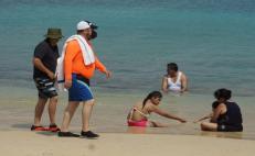 Reciben turismo playas de Oaxaca, pero uso de cubrebocas será obligatorio en Puerto Escondido hasta semáforo verde