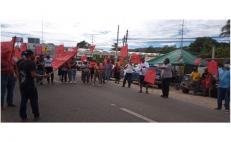 En aniversario de la Revolución, organizaciones exigen apoyos a pueblos indígenas de Oaxaca