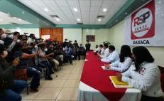 Toma protesta Comité Ejecutivo de RSP en Oaxaca; buscarán presentar candidatos en 153 municipios