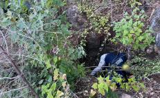 En operativo de búsqueda de personas, hallan tres cuerpos en cueva de la Sierra Sur de Oaxaca