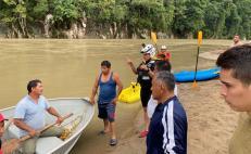 Localizan cuerpo de hombre que naufragó en el río Valle Nacional, en la Cuenca