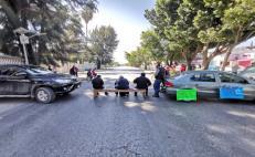 Con bloqueos en Valles y la Costa, trabajadores del IEBO activan segundo día de protestas