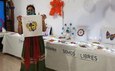Con una exposición colectiva, mujeres del Istmo celebran un año libre de violencia