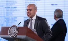 Reaparece David León para justificar vacaciones de López-Gatell