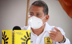 """Por desacato tras registrar alianza """"Va por Oaxaca"""", PRD evaluará remover a su presidente estatal"""