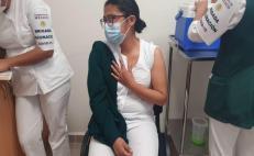 Avanza vacunación contra Covid-19 a trabajadores de primera línea en 13 hospitales del IMSS