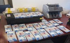 Fiscalía de Oaxaca captura a dos hombres por robo de cajero automático con 2.7 mdp en Huajuapan