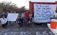 Habitantes de San Dionisio del Mar rechazan visita de funcionarios del Corredor Interoceánico
