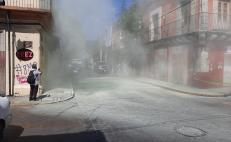 Irrumpen manifestantes de Bajos de Chila oficinas de Salud de Oaxaca; exigen equipo médico