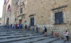 Piden Servicios de Salud de Oaxaca evitar filas para segunda dosis contra Covid-19