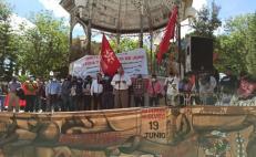 A cinco años del desalojo en Nochixtlán, Sección 22 y Comité de Víctimas se movilizan para pedir justicia