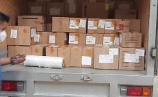 Servicios de Salud de Quintana Roo donan 18 mil 696 fármacos oncológicos a Oaxaca