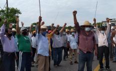 Al menos 450 campesinos indígenas exigen atención del gobierno e información sobre impacto del Transístmico
