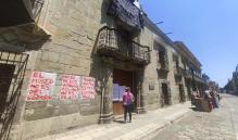 """""""MACO es de los artistas y de la comunidad"""": Protestan contra cierre del Museo de Arte Contemporáneo de Oaxaca"""