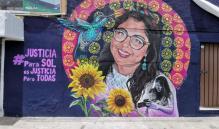 Develan un mural en honor a María del Sol, fotoperiodista asesinada en Oaxaca