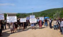 Unos 300 desplazados de San Juan Juquila Mixes, Oaxaca, también exigen retorno seguro