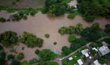 Alerta en Ixhuatán, comunidad del Istmo de Oaxaca, tras aumento de nivel del Río Ostutapor lluvias