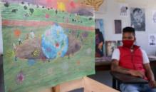 Joven oaxaqueño privado de la libertad gana primer lugar en Concurso Nacional de Expresión Artística 2021