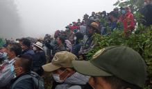 Marcan límites entre Ayutla y Tamazulápam, pueblos ayuujk de Oaxaca; manantial se dividirá al 50%