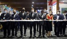 Inaugura Murat la Primera Expo Congreso Internacional Eléctrico del Sureste 2021, en el Centro de Convenciones