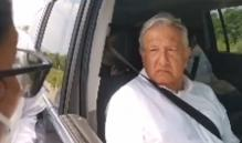 Tengan confianza, yo lo voy a resolver, dice AMLO a personal de salud despedido en Oaxaca