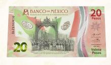 Así es el nuevo billete de 20 pesos conmemorativo al Bicentenario de la Independencia
