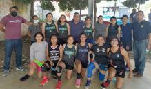 Sueñan niñas basquetbolistas de Oaxaca con la selección nacional; falta apoyo: entrenador