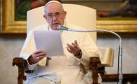 Papa reza por víctimas del sismo en México