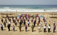 """Así arrancan las playas con """"la nueva normalidad"""", operan al 30%"""