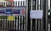 Trabajadores del Registro Civil protestan ahora en el Congreso contra centro gastronómico