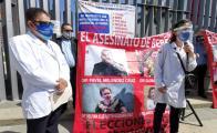 Con protesta afuera del Congreso local, médicos rechazan iniciativa para garantizar acceso a abortos