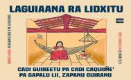 Jóvenes tapizan Juchitán con carteles en zapoteco contra el coronavirus