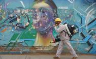 Sanitizan más de dos mil unidades de transporte público en Oaxaca
